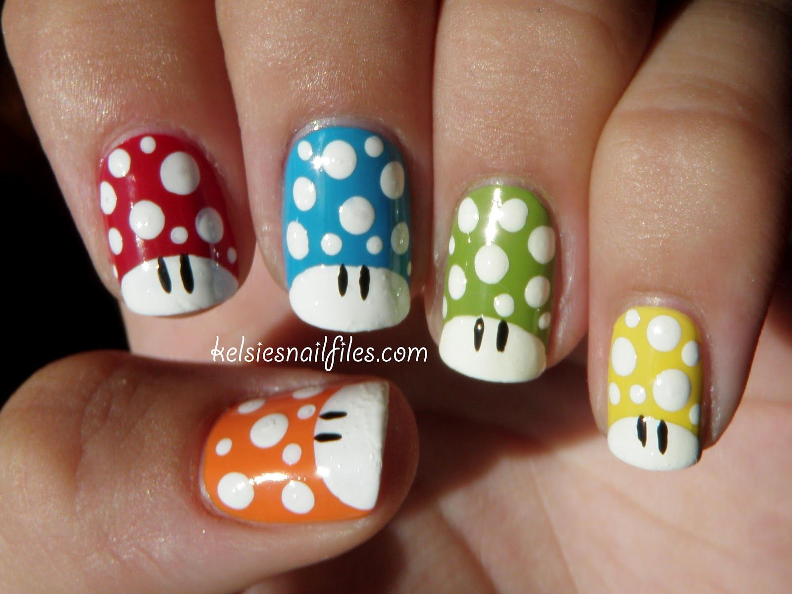 For The Ladies: Nerd Nails | Mighty Ink Comics and Entertainment ...