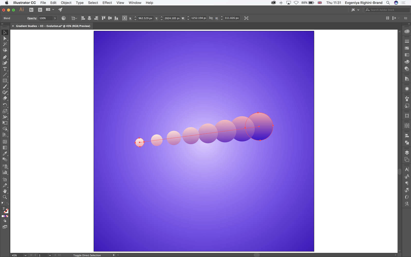 Brighten Up Your Work for Summer with Gradients Graphic