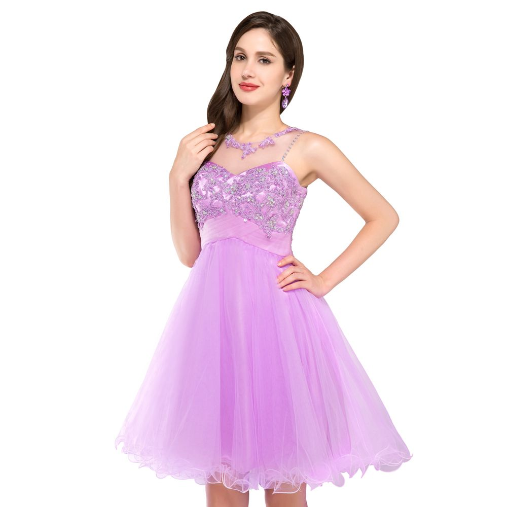 Free Shipping High Neck Teens Short Homecoming Prom Dresses with ...
