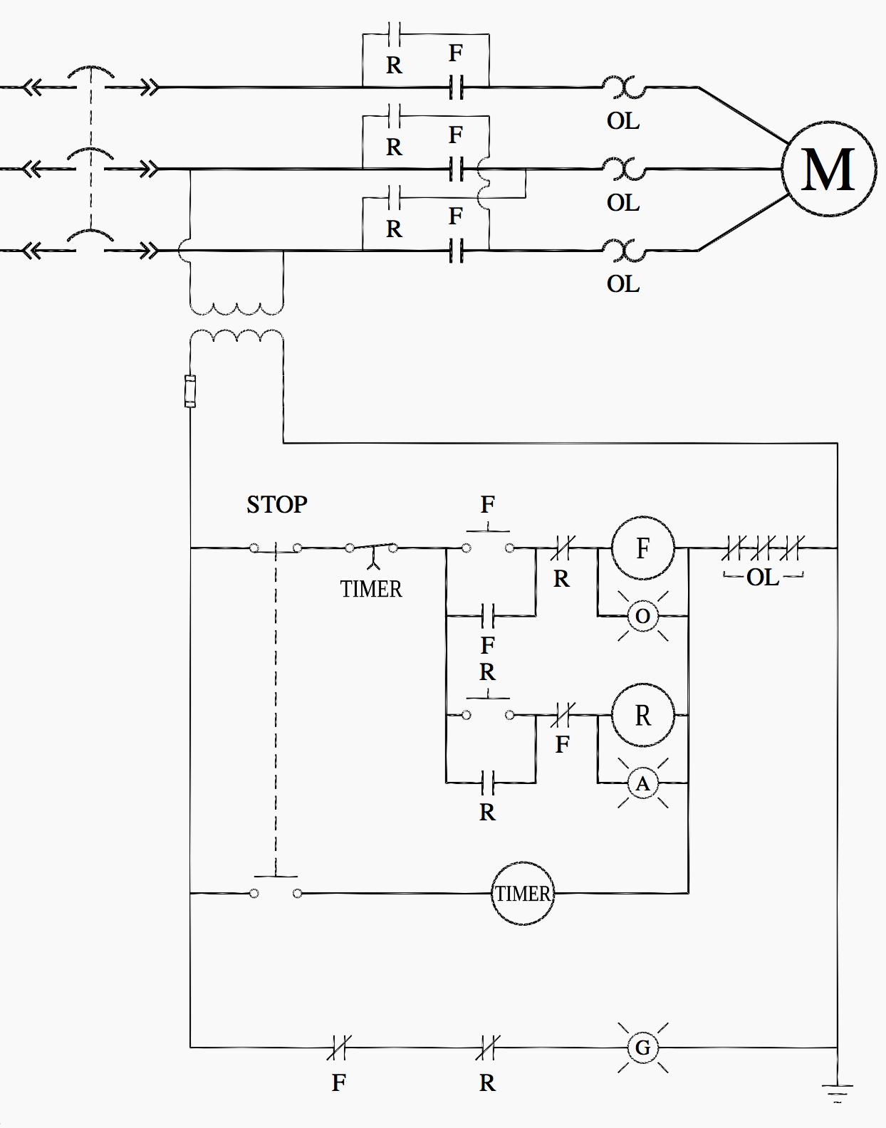 ladder logic diagram examples 3 phase panel wiring anti plugging circuit automation pinterest circuits