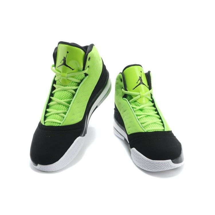 classic fit b154f 05b35 Air Jordan B Mo Air Sole High Black Green