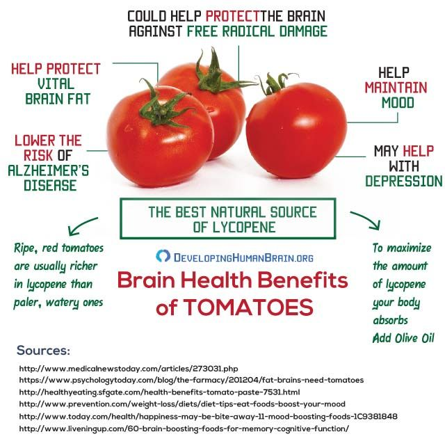How tomatoes protect your brain httpdevelopinghumanbrain healthy living forumfinder Image collections