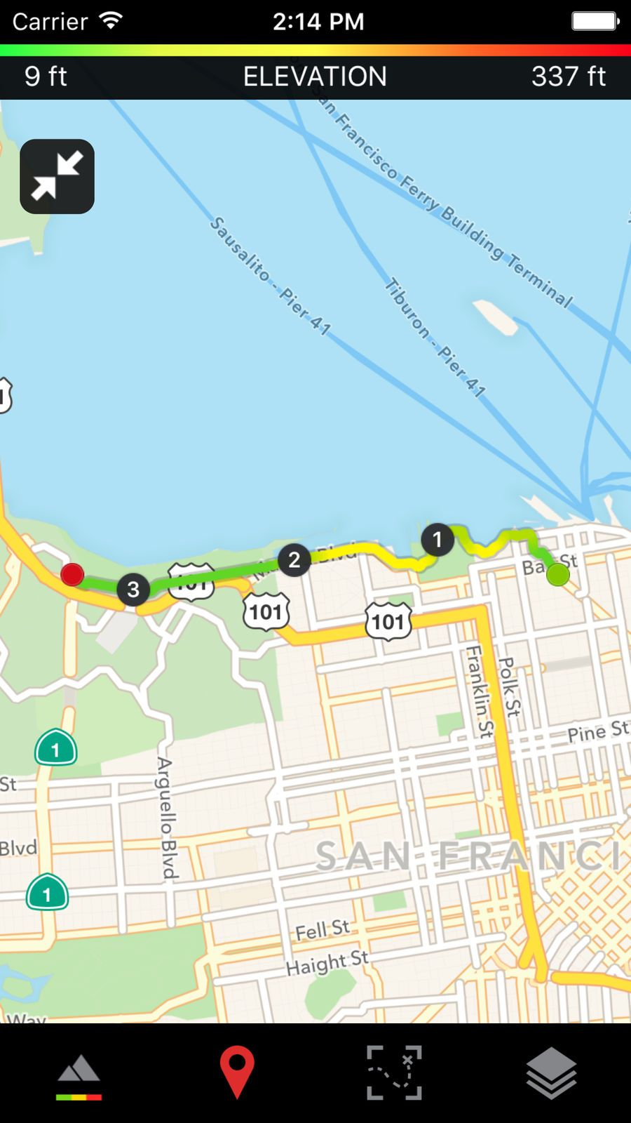 Runtastic Road Bike GPS ampHealthFitnessios Road