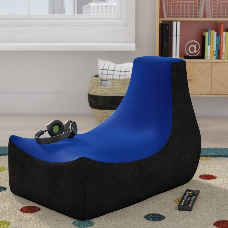 94 reference of bean bag gaming chair with speakers in