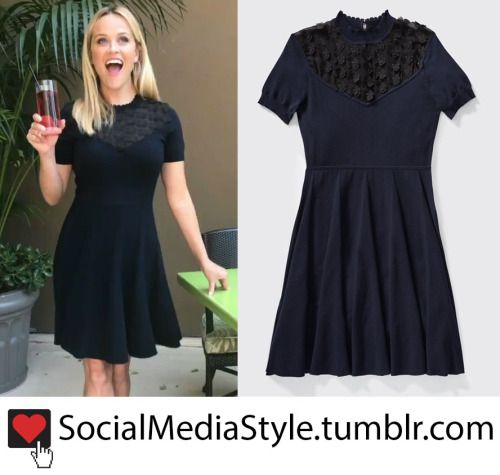 Reese Witherspoon Tea Length Dress
