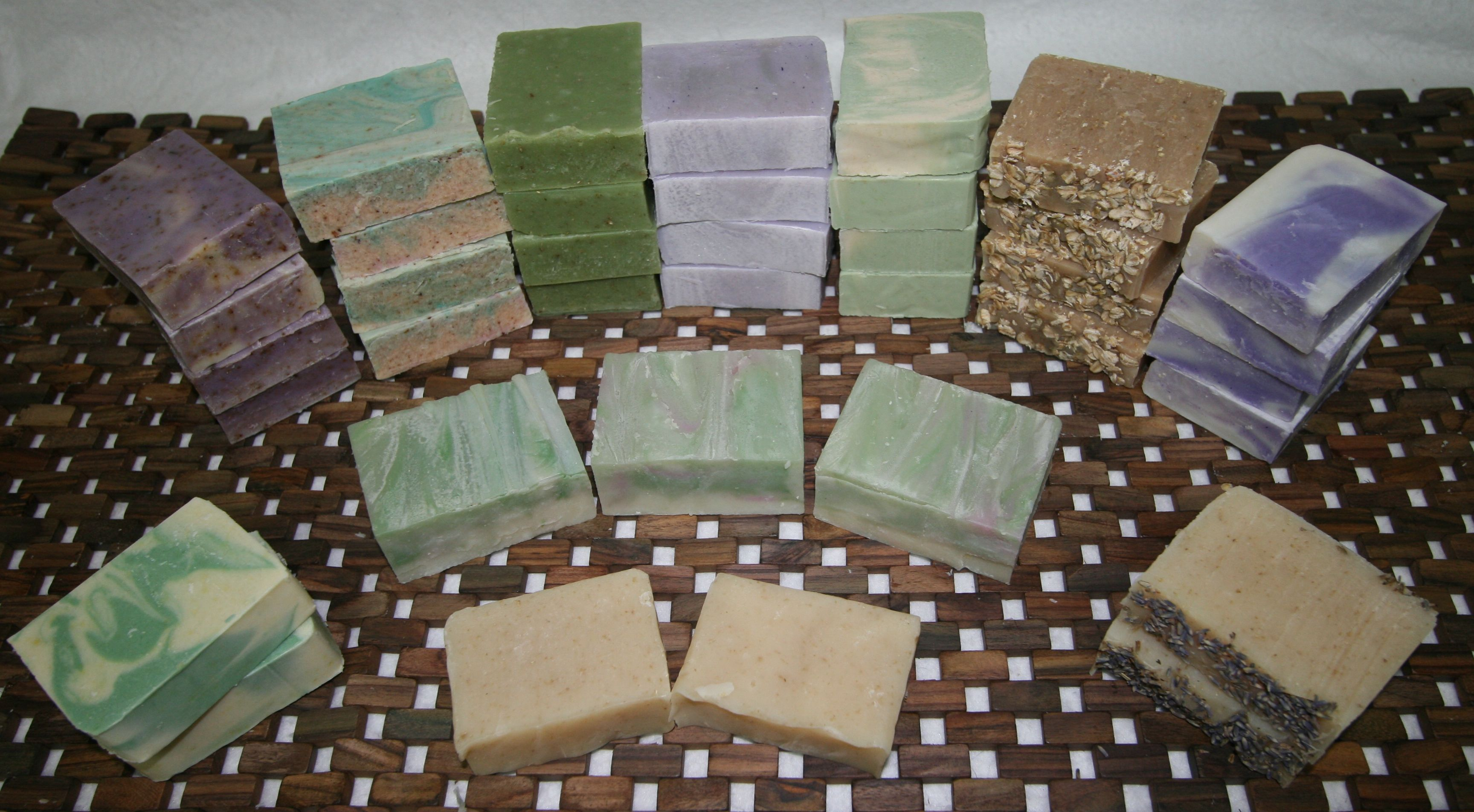 Handcrafted all-natural 5 oz Soaps   $7.00 or 3/$18