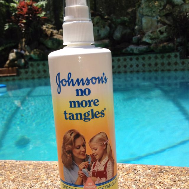 1988 Johnson's No More Tangles!