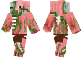 Minecraft Skins Zombie Pigman Skin Png Image With Transparent Background Png Free Png Images Minecraft Skins Zombie Minecraft Skins Pigman