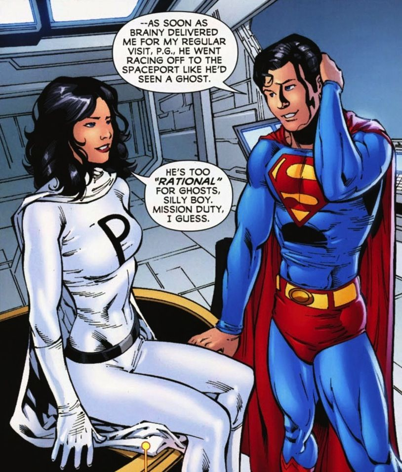 Phantom Girl e Superbly pre-Crisis