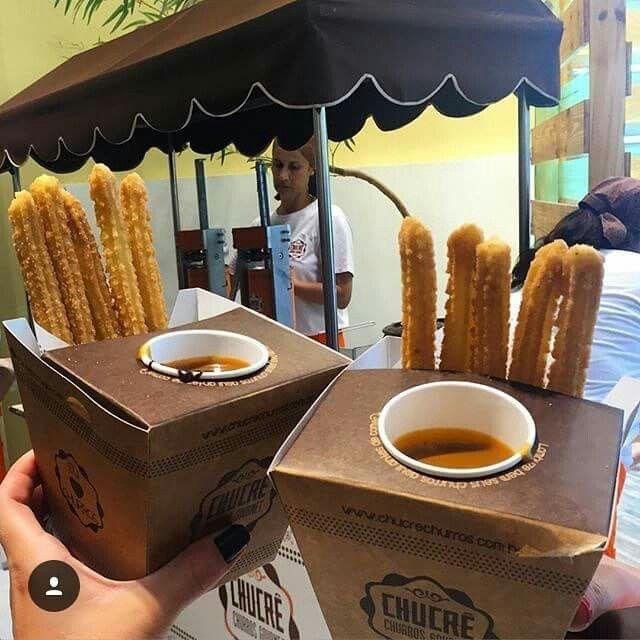 Embalagem churros espanhol | Foodbike | Pinterest