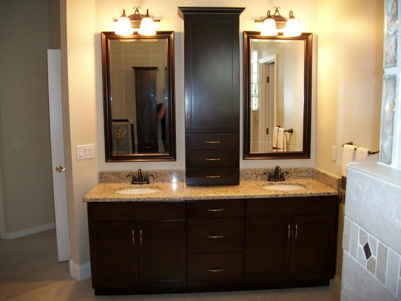 Bathroom Vanity Tower Ideas : Custom bathroom vanities cabinets linen