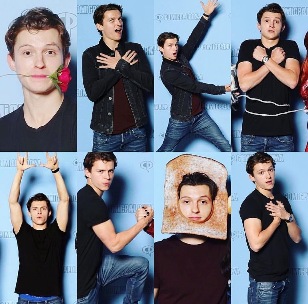 Tom Holland and Peter Parker Imagines - 10 seconds (T.H)