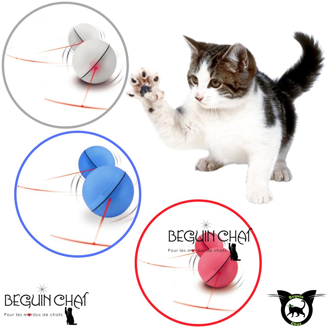 Animaux En Plastique Jouet balle laser roulante | fournitures pour chats, jeux