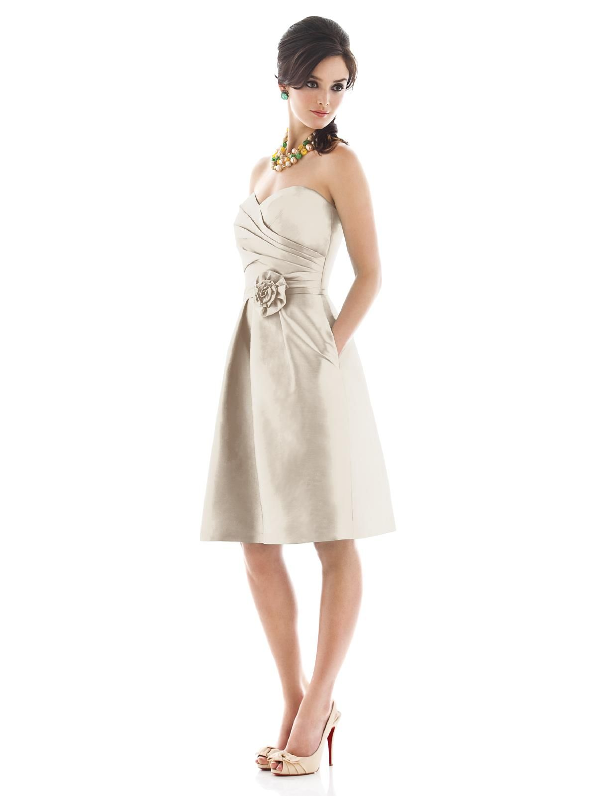 Alfred sung d496 without the sash fairy tale pinterest the alfred sung bridesmaid collection offers fresh contemporary bridesmaid dresses while keeping your budget in mind ombrellifo Choice Image