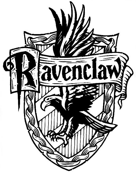 Harry potter hogwarts ravenclaw crest diy harry potter harry potter harry potter h user - Harry potter dessin ...