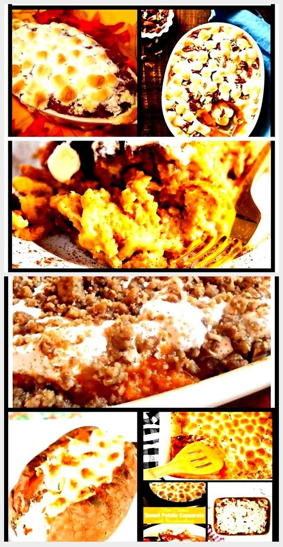 Chocolates - sweet potato casserole | Sweet potato casserole | Thanksgiving recipe | ... #sweetpotatocasserole