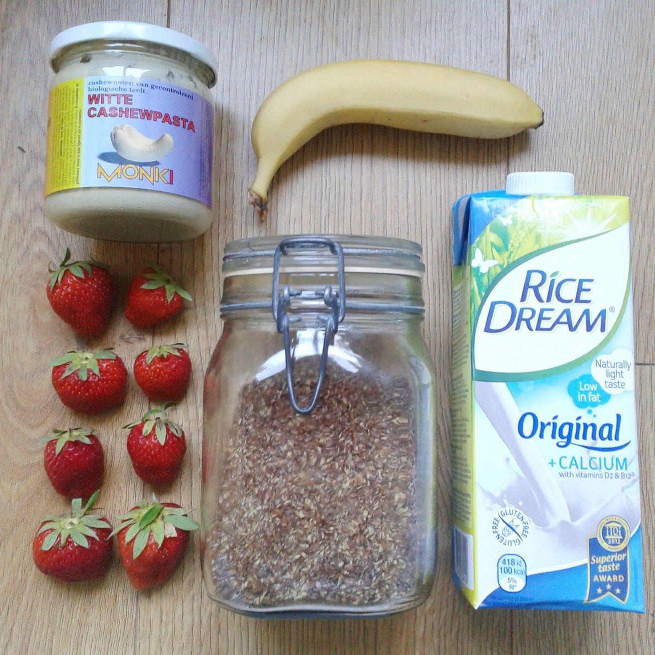Suikervrije aardbeien smoothie | SuikerWijzer