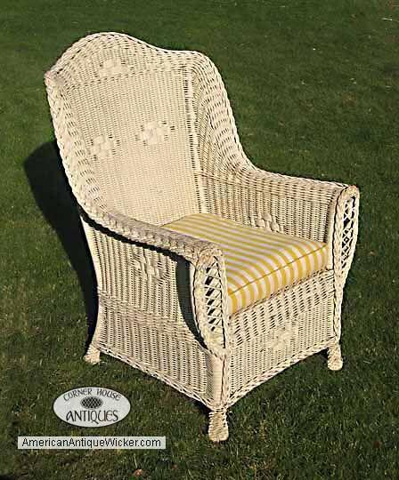 Antique Wicker Chair