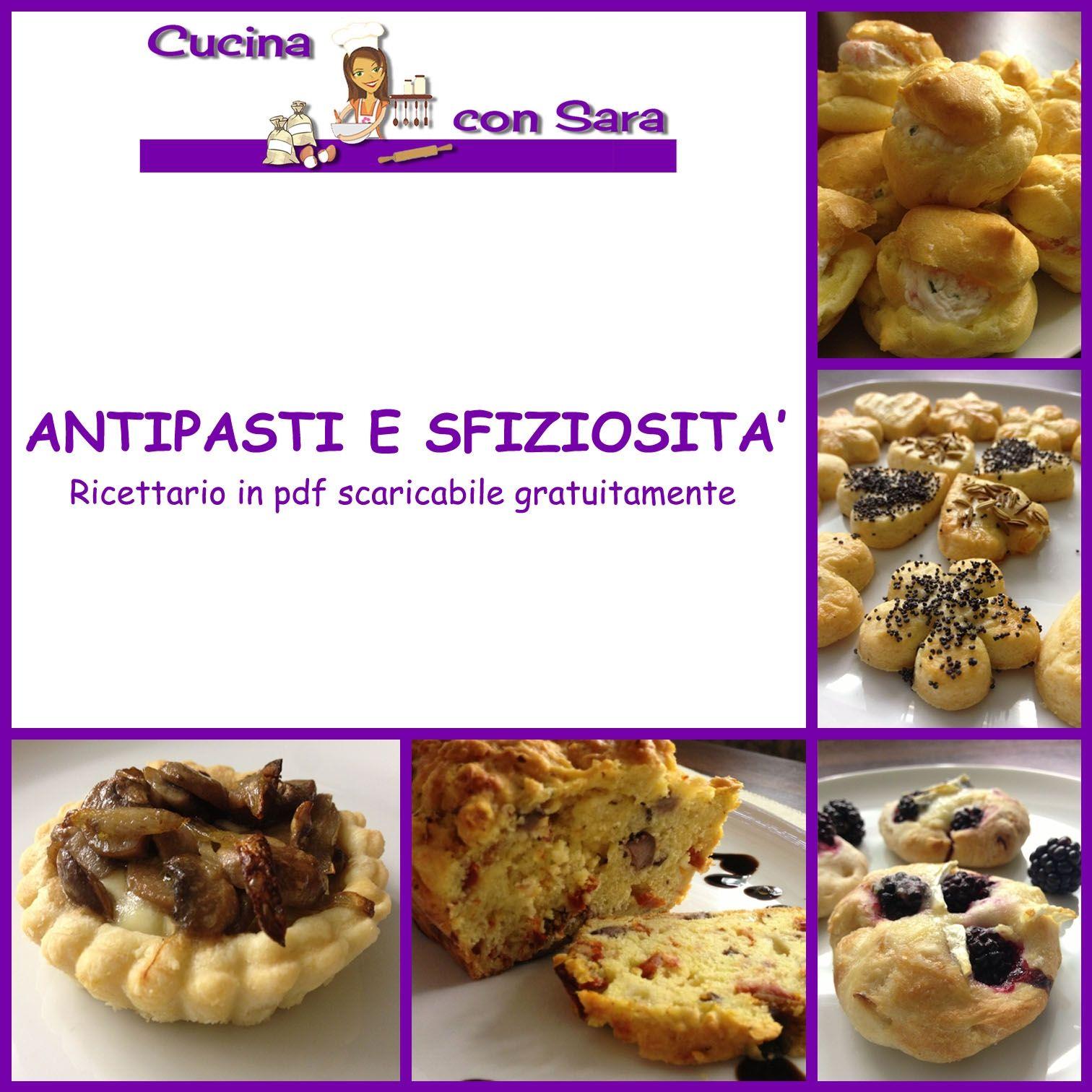 Antipasti e sfiziosit pdf gratuito da scaricare for Cose per cucinare 94