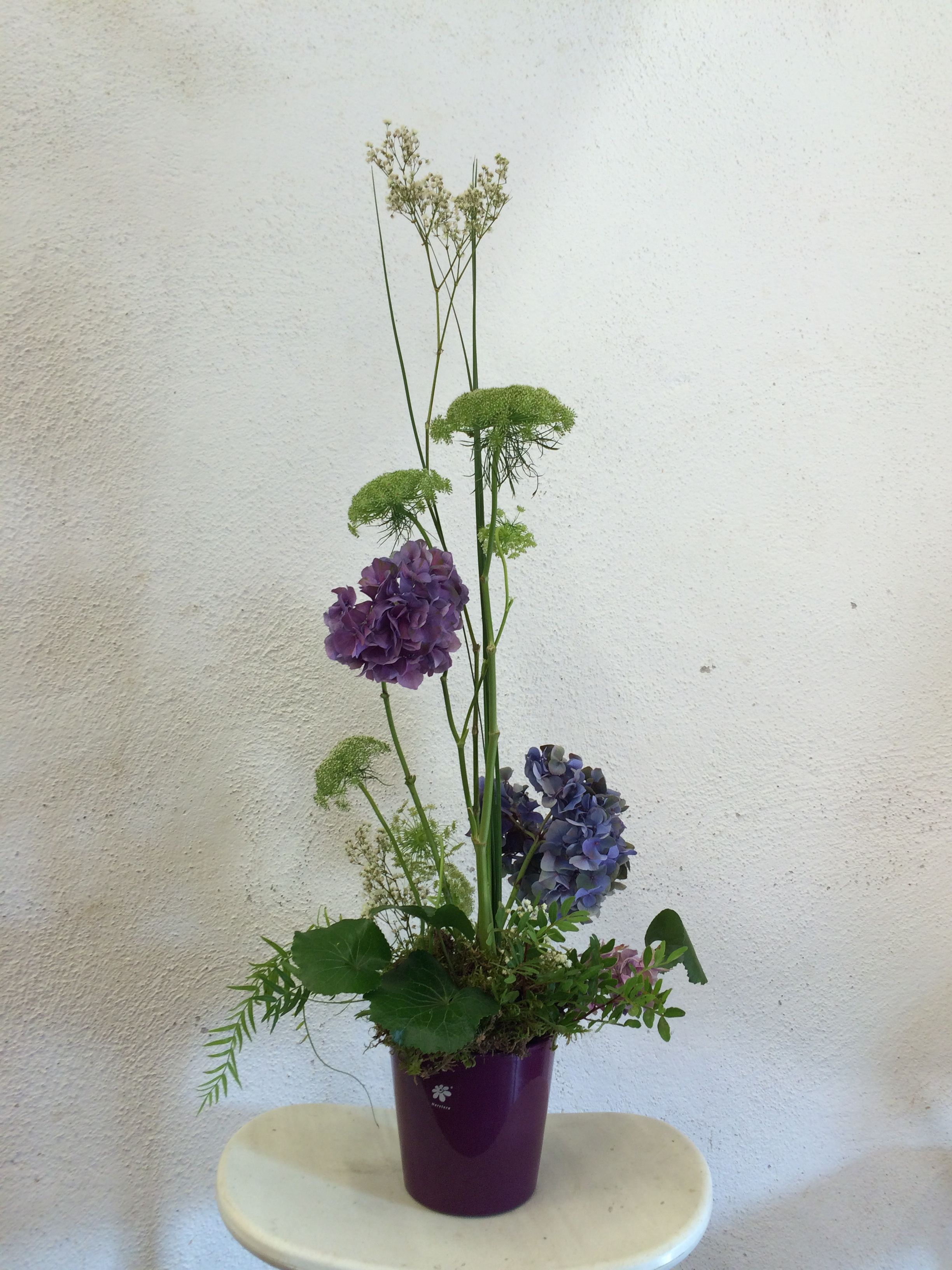 Refined vertical floral work in a purple ceramic vase composed by refined vertical floral work in a purple ceramic vase composed by paniculata amimajus reviewsmspy