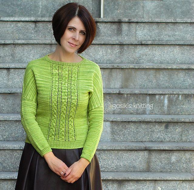 Ravelry: Tres Trenzas patrón de Justyna Lorkowska