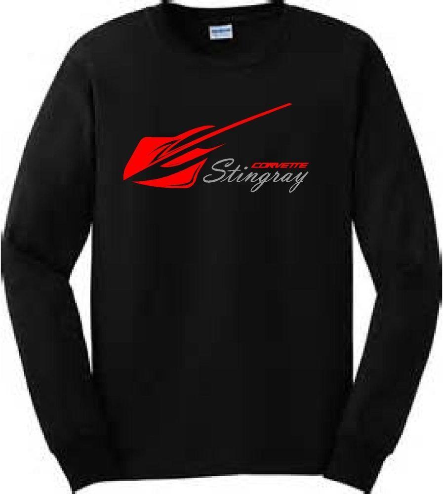 Corvette Stingray Racing Car Club Long Sleeve T Shirt Corvette Stingray Corvette Stingray