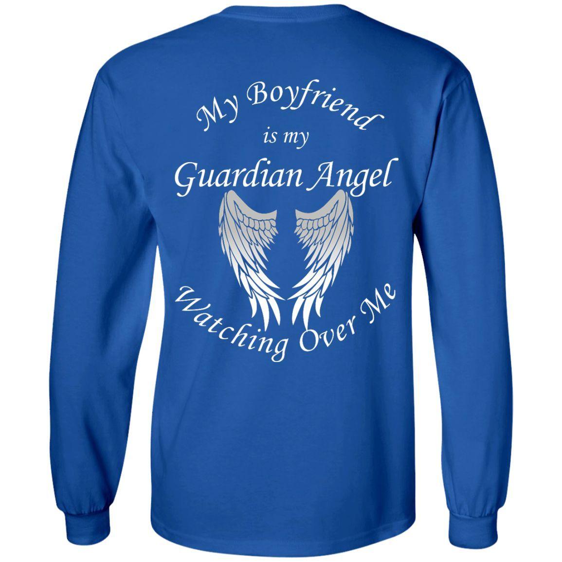 Boyfriend Guardian Angel LS Ultra Cotton Tshirt
