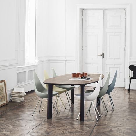 Jaime Hayon Designs Analog Table For Use In Home Office Or Fair Restaurant Dining Room Tables Design Ideas