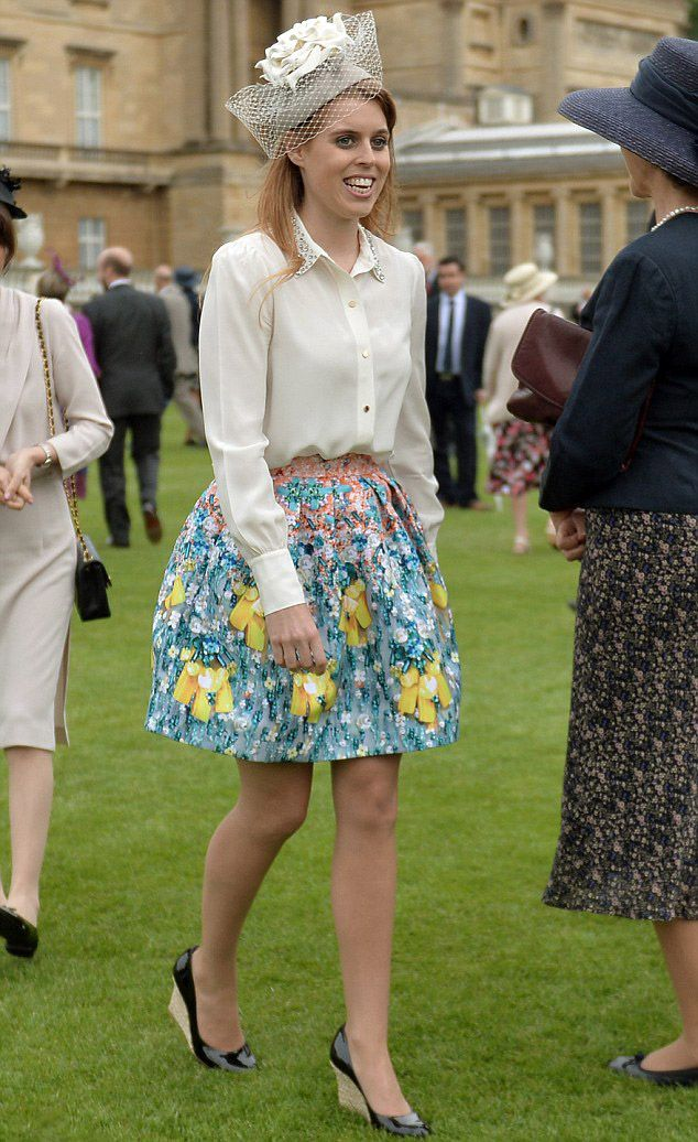 Princess Beatrice of York attends Buckingham Palace garden