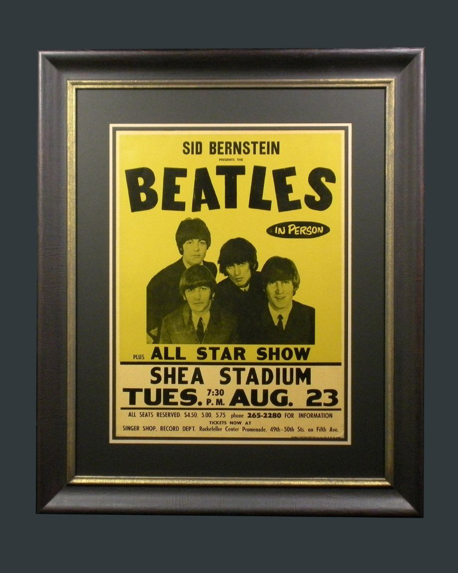 The Beatles\' U.S. debut at Shea Stadium (Queens, NY)   LIVE! Center ...
