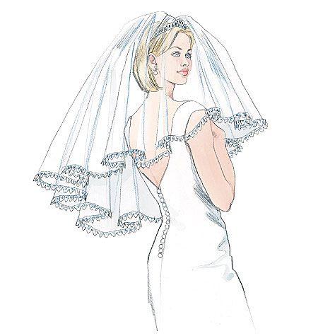 McCalls Wedding Veil Pattern
