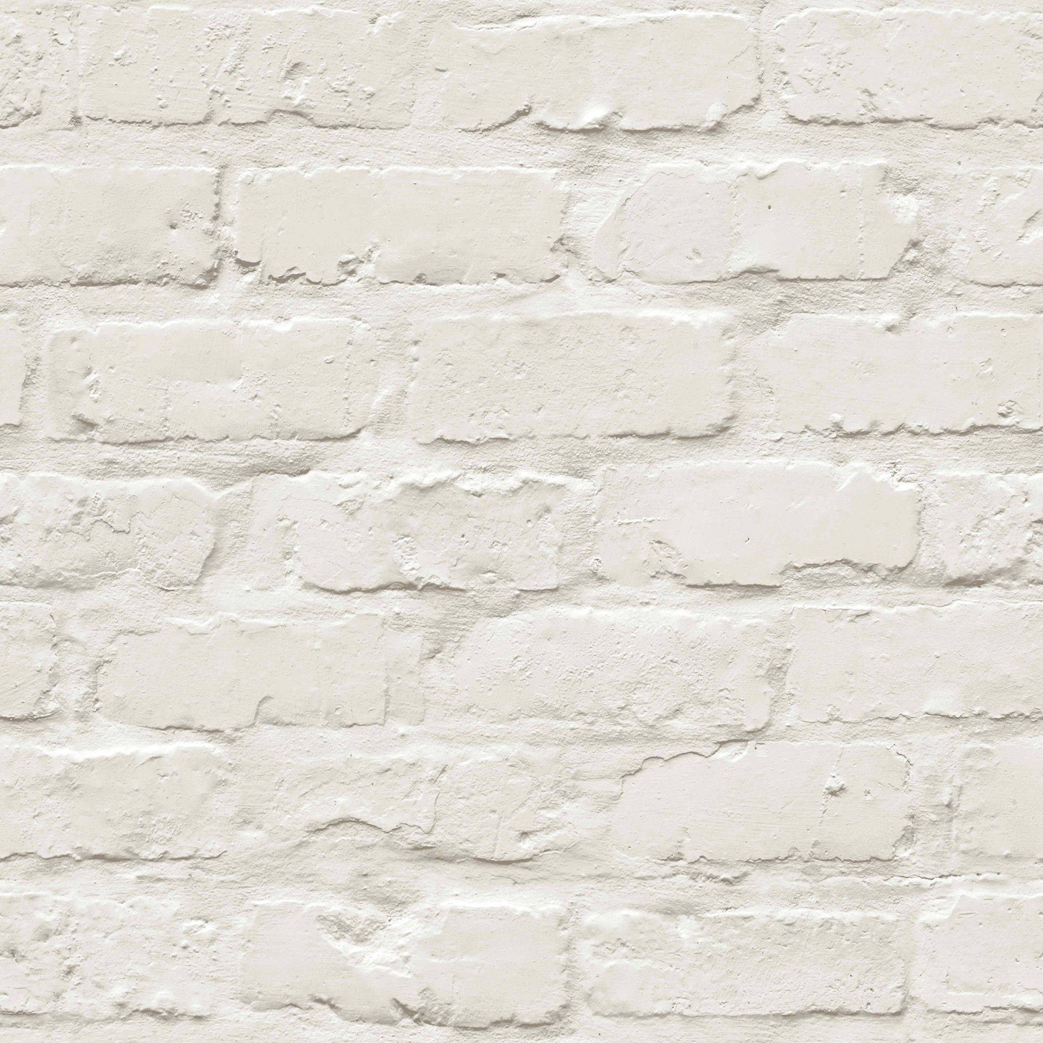 Colours White Painted Brick Wallpaper Brick Wallpaper