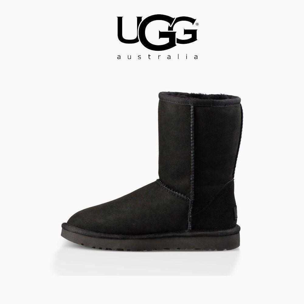 1016223 GREY BOOTS CLASSIC CHETNUT Women's II BLACK SHORT UGG xFBXq8B