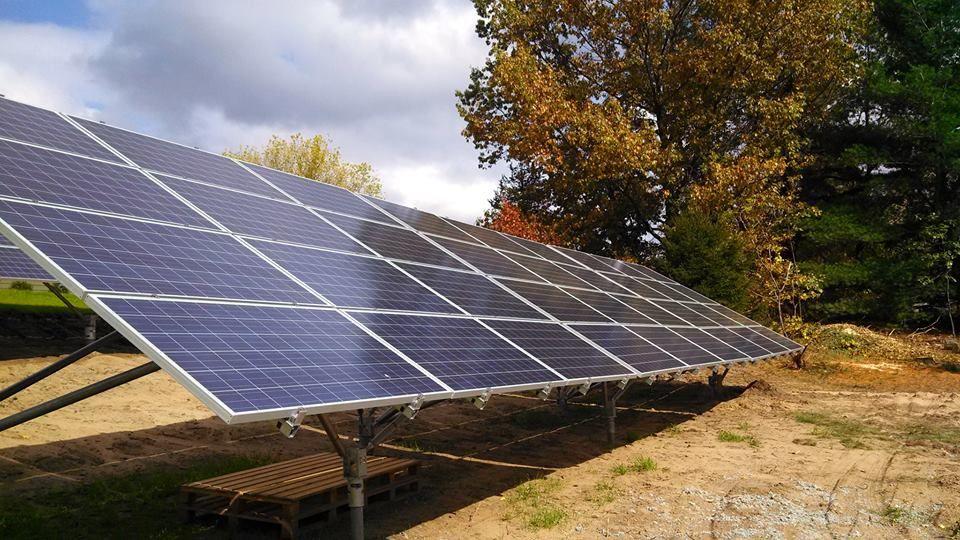 Upstate NY solar farms Solar installation, Solar farm