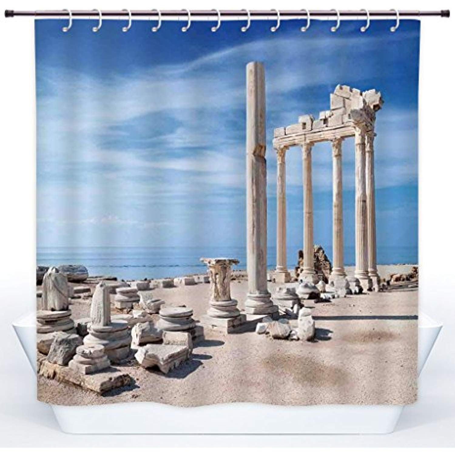 Scocici Stylish Shower Curtain Home Decor Ancient Greek