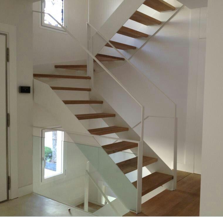 Escalera metalica compensada escaleras pinterest - Escaleras metalicas interiores ...