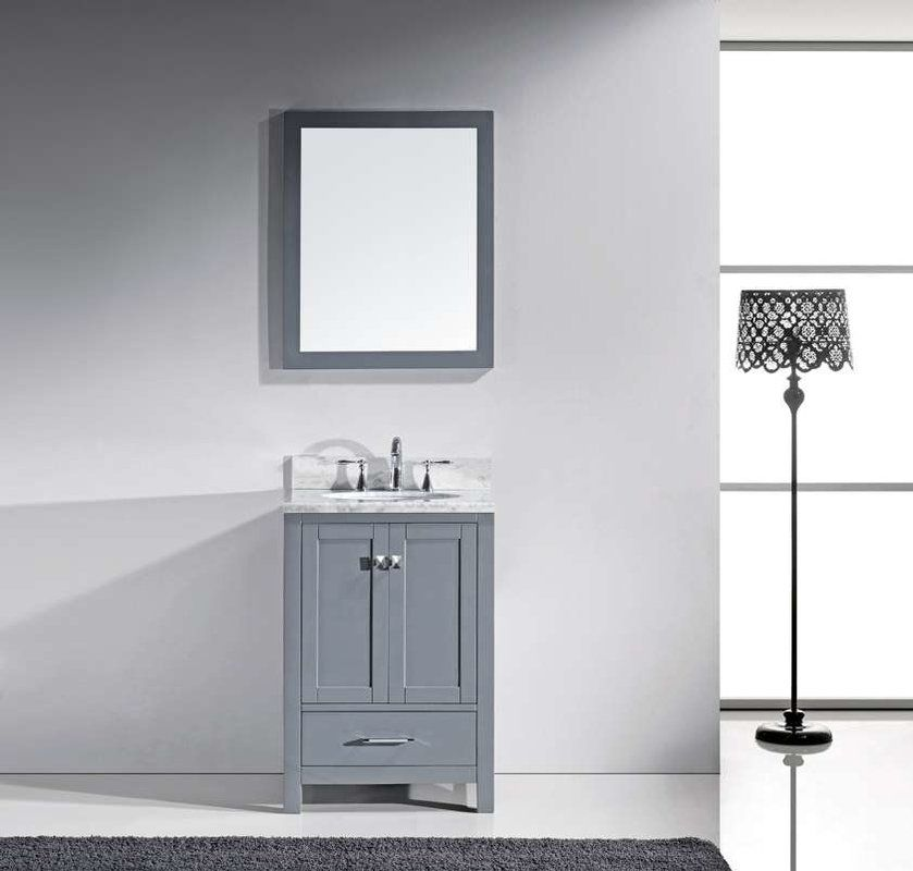 serigne 24 single bathroom vanity set with mirror cutrone rh pinterest co uk