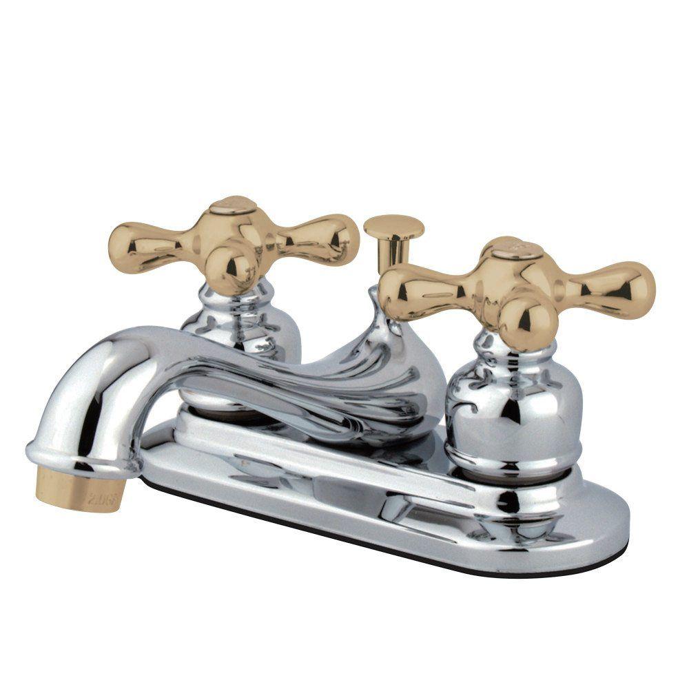 Kingston Brass KB604AX Lavatory Faucet Retail Pop-Up, Chrome ...