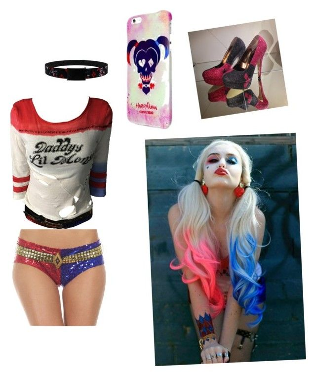 """Harley Quinn ❤️"" by norberg-a on Polyvore"