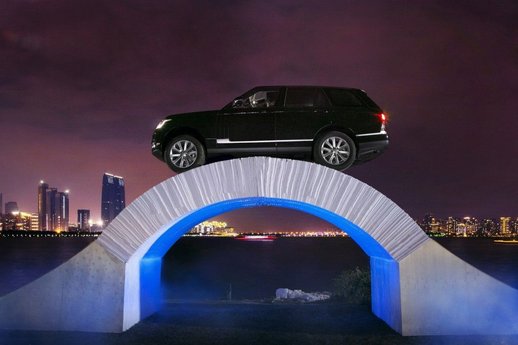 Filled with vigor and endless possibilities, Range Rover celebrated its 45th birthday in the most adventurous, wildest way yet by driving across a bridge made completely out of paper. Read more: http://bit.ly/1QaNKZB