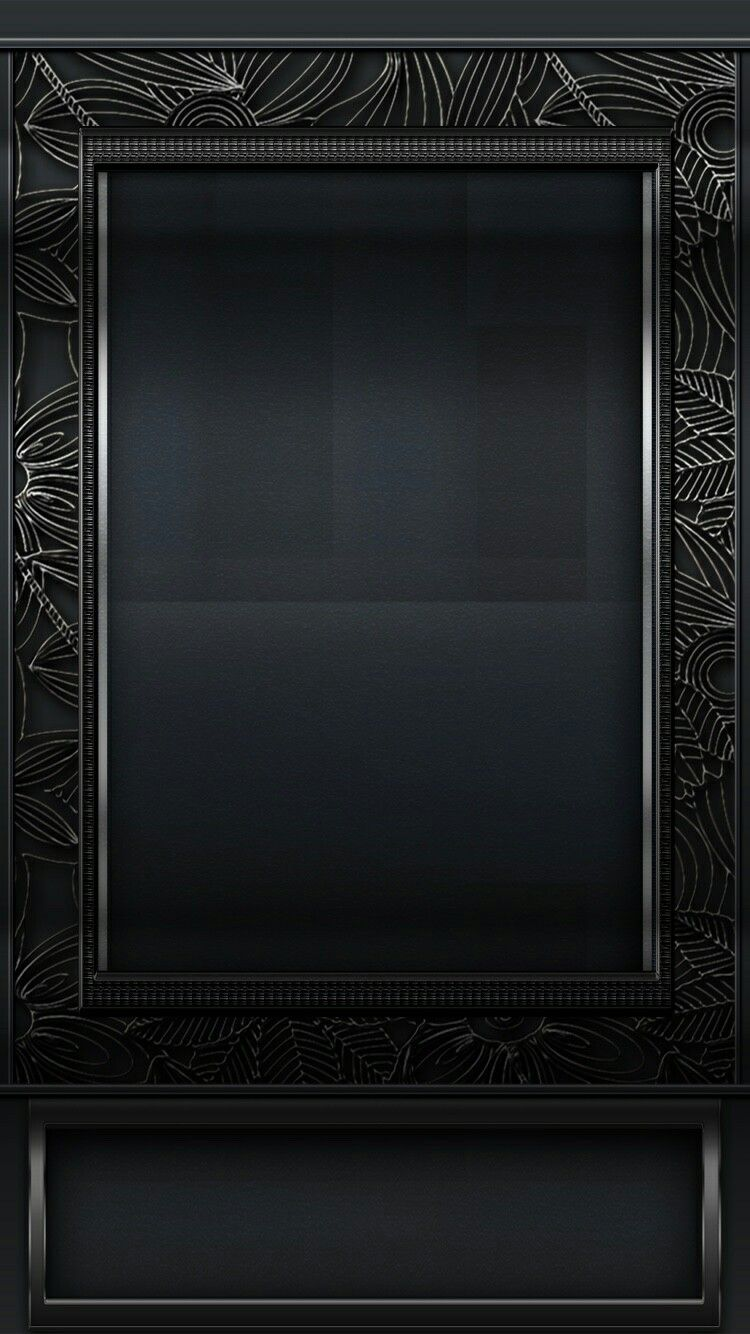 Black Frame Wallpaper Abstract Iphone Wallpaper Black Wallpaper Iphone B W Wallpaper