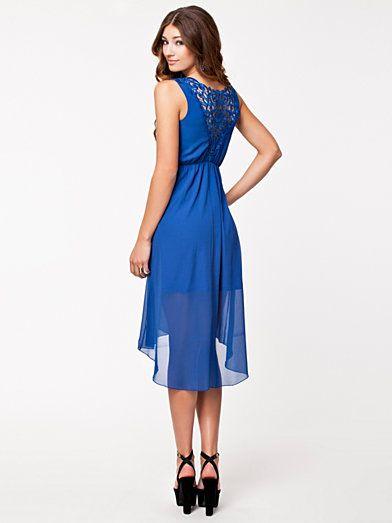 2ffb527cae05 Xena Dress - Jeane Blush - Blue - Party Dresses - Clothing - Women -  Nelly.com Uk