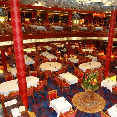 Rotterdam Dining Room on the Holland America Veendam cruise ship
