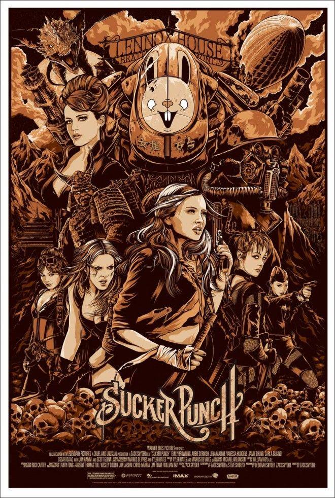 Mondo Sucker Punch poster