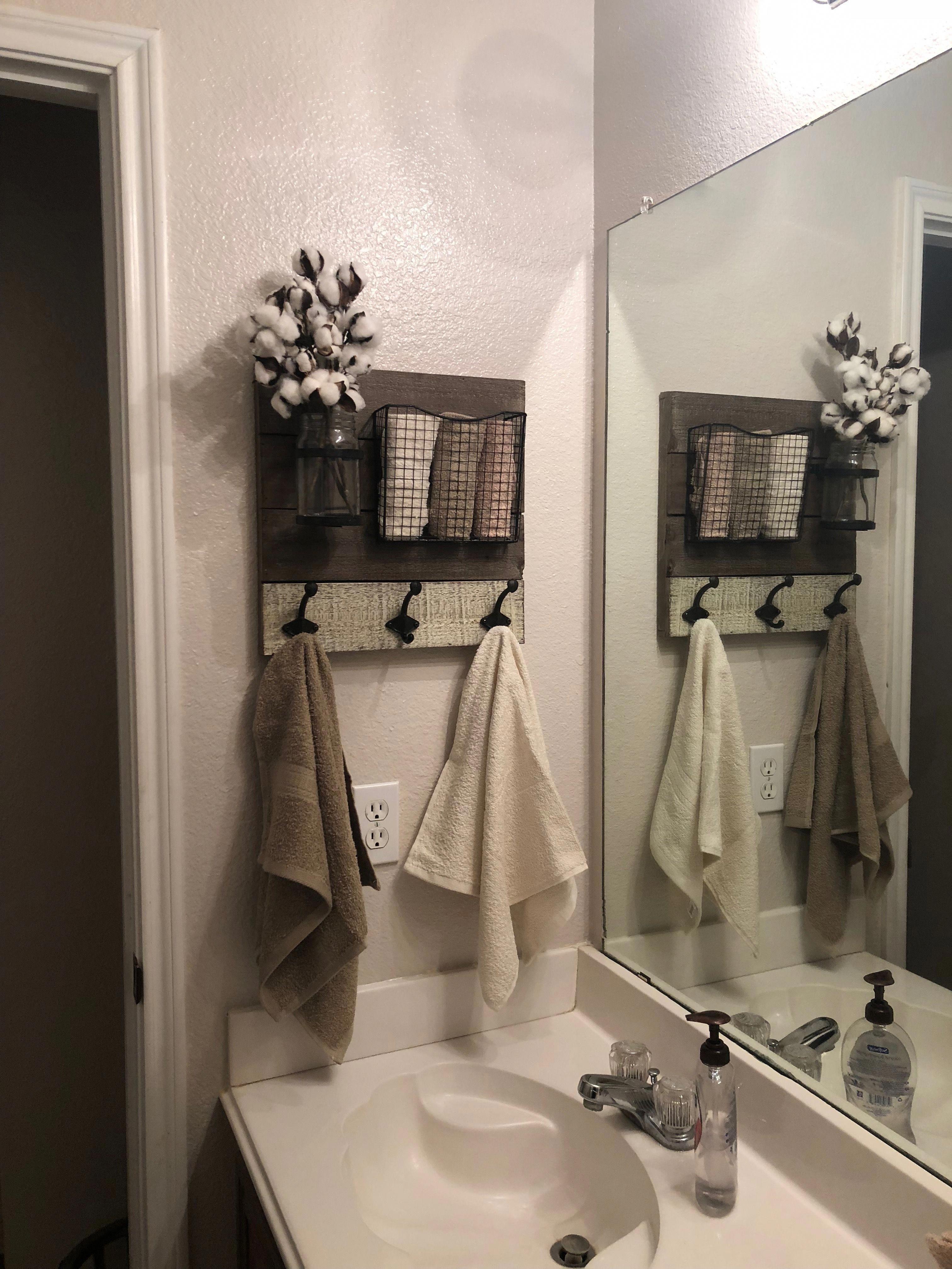 Master Bathroom Beside Pedal Stool Sink Cottage Bathroom Design