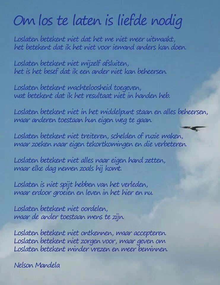 Citaten Nelson Mandela Engels : Loslaten nelson mandela gedicht
