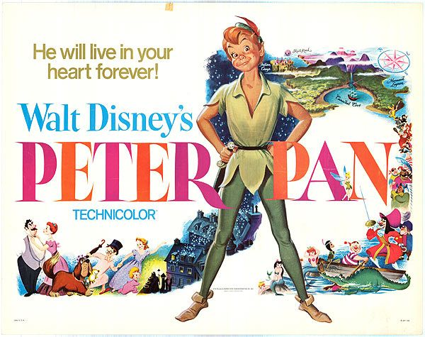 Peter Pan Original Movie Poster