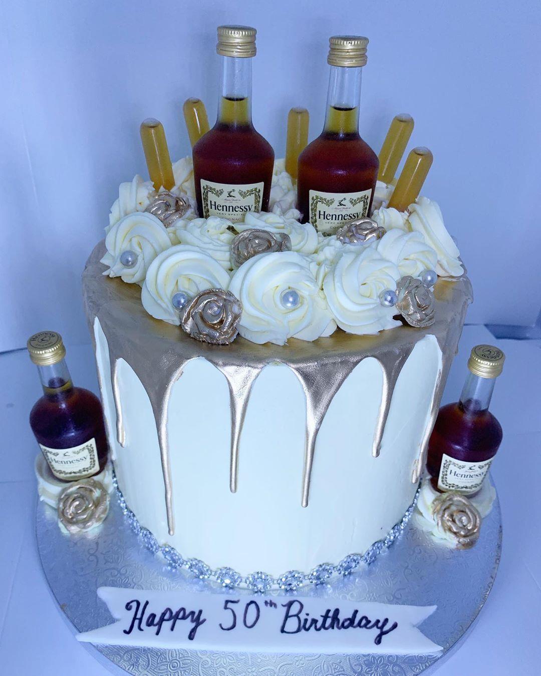 Hennessy good drip cake hennessy hennessycake