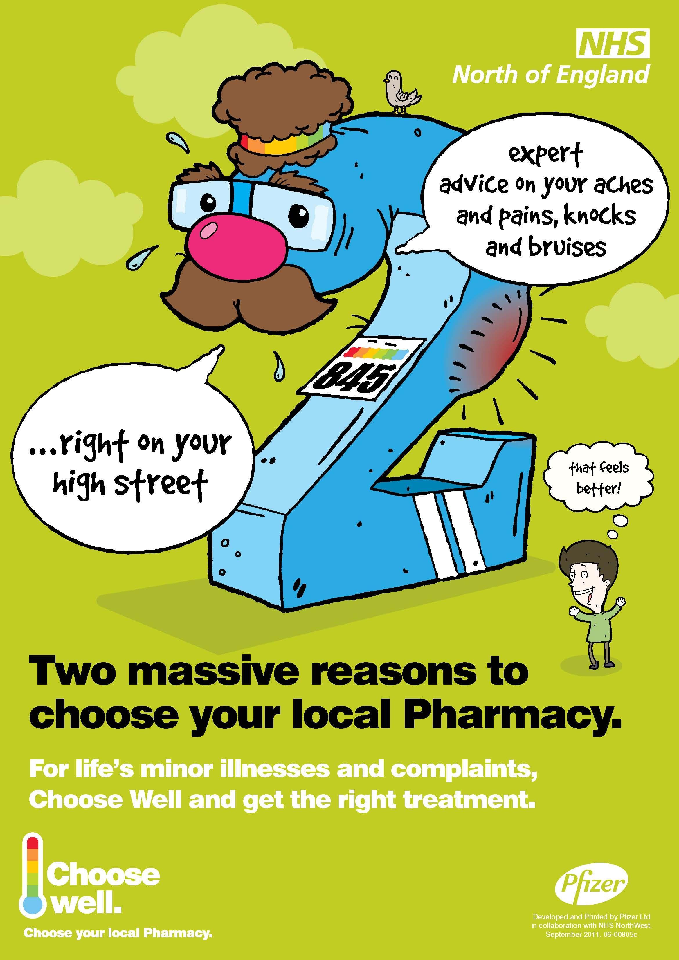 Choose Well Pharmacy Care agency, Uk healthcare