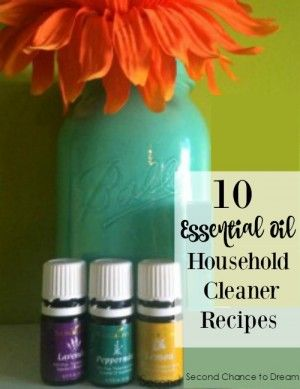 10 Essential Oil Household Cleaner Recipes Essential Oils